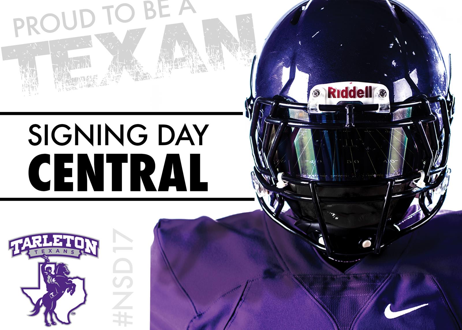 Signing Day Central: 2017 Tarleton Football